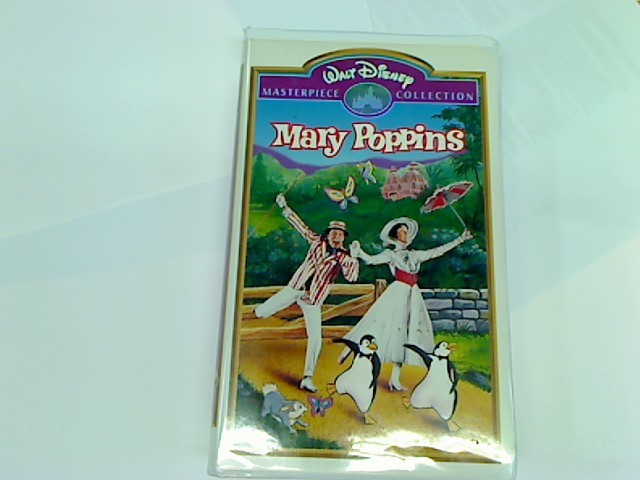 DISNEY VHS MARY POPPINS MASTERPIECE COLLECTION