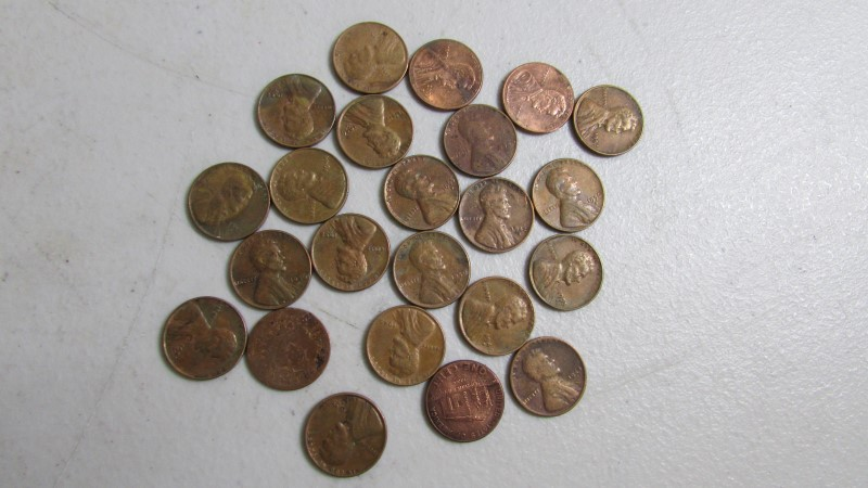 UNITED STATES PENNIES('40-'09)