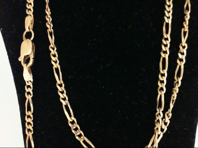 "19"" Gold Chain 14K Yellow Gold 6.3g"