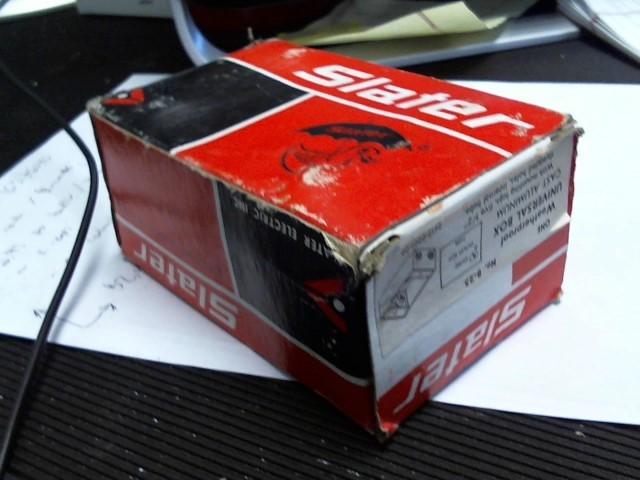 SLATER WEATHERPROOF UNIVERSAL BOX