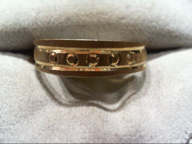 Gent's Gold Ring 14K Yellow Gold 2.3g Size:9