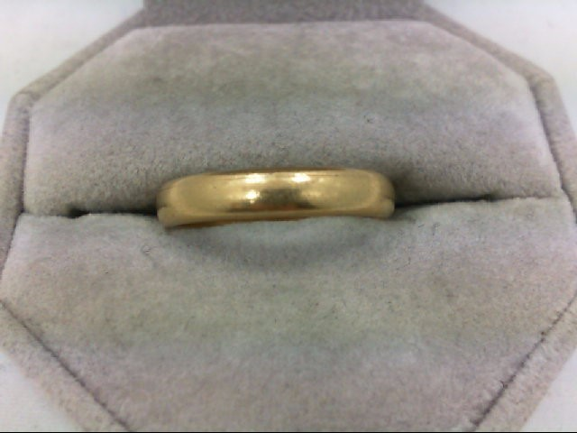 Gent's Gold Ring 14K Yellow Gold 3.8g Size:9