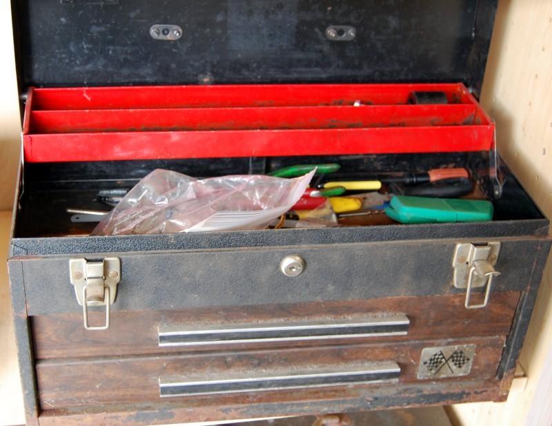 Tool Box w/ Misc. Tools