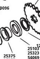 CUSTOM CHROME 25103, #35230-39;  4SPD TRANNY MAINSHFT OIL SEAL 41-E79