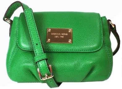 MICHAEL KORS SMALL GREEN CROSSBODY