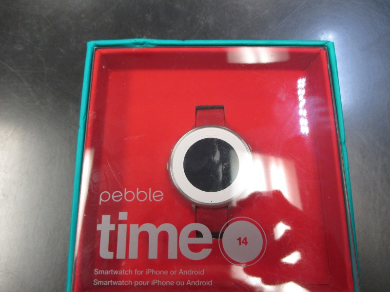 PEBBLE SMART WATCH Gent's Wristwatch TIME 14