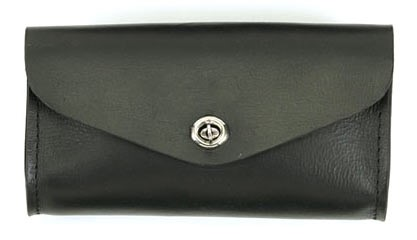 DEALER LEATHER WS11; MEDIUM PLAIN LEATHER WINDSHIELD BAG
