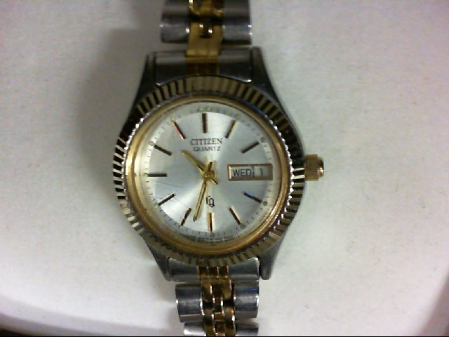 WOMANS CITIZEN QUARTZ NON-GOLD W