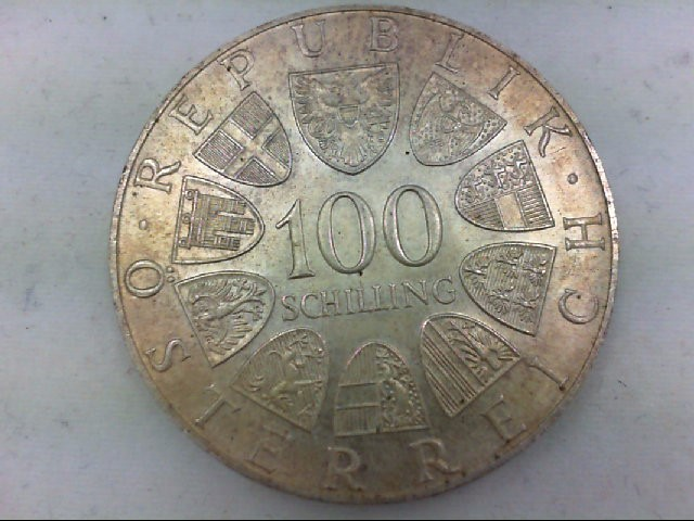 1976 REP. OSTERREICH 100 SHILLIN