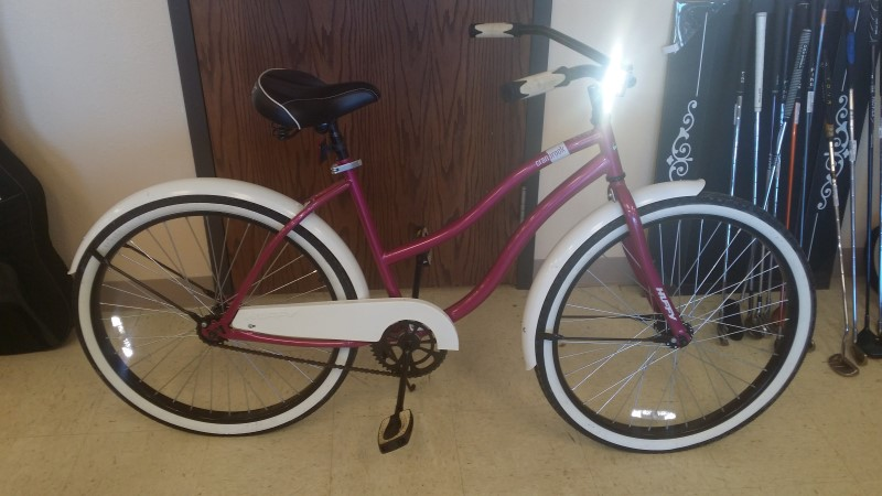 "HUFFY BICYCLE Mountain Bicycle HUFFY CRANBROOK 26"" CRUISER BIKE"