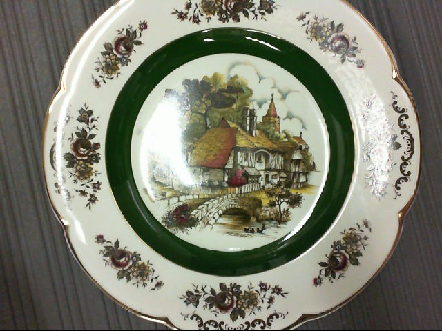 WOOD AND SONS PLATE