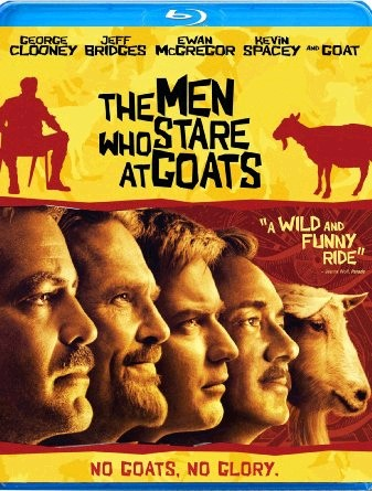 Blu-ray The Men Who Stare At Goats *FORMER RENTAL*