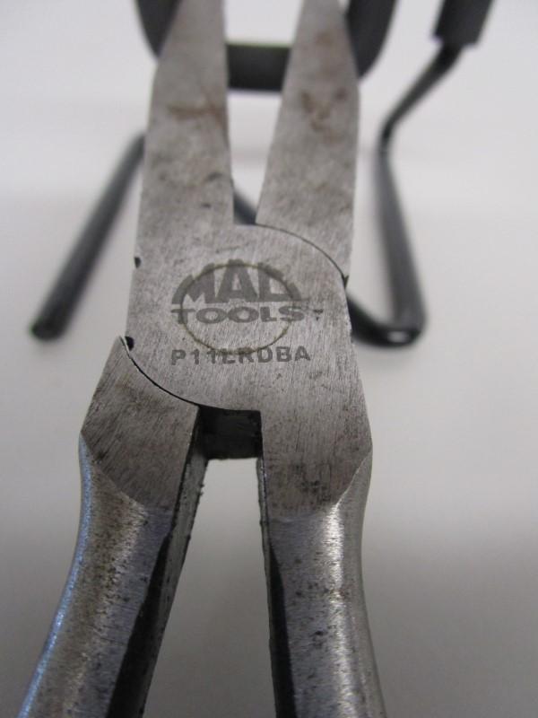 "MAC TOOLS 11"" FLAT NOSE PLIERS P11LRDBA"
