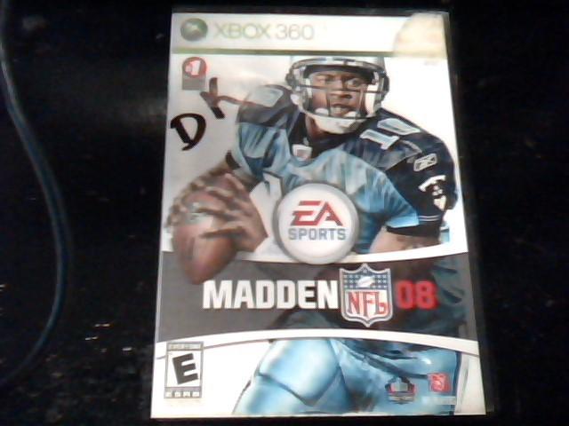 XBOX 360 Game MADDEN 08