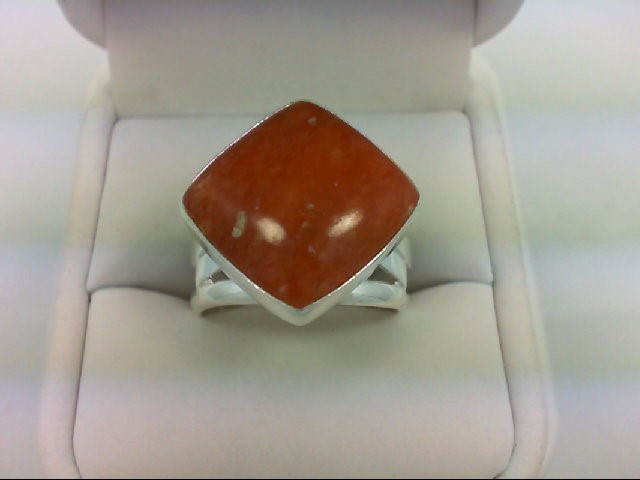 Lady's Silver Ring 925 Silver 10.1g Size:10
