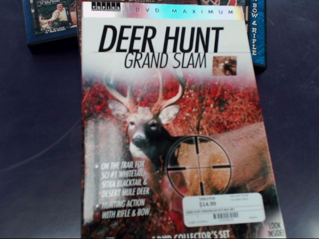 DVD BOX SET DEER HUNT GRAND SLAM  *4 Disc Set*