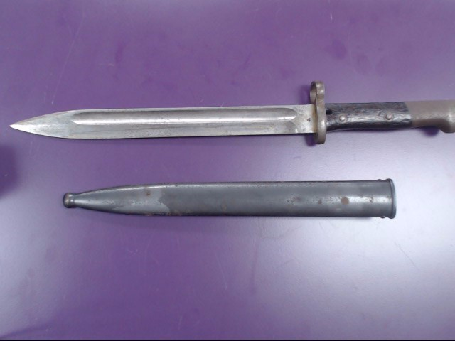 Steyr Manlicher 1912 Austrian Mauser Bayonet
