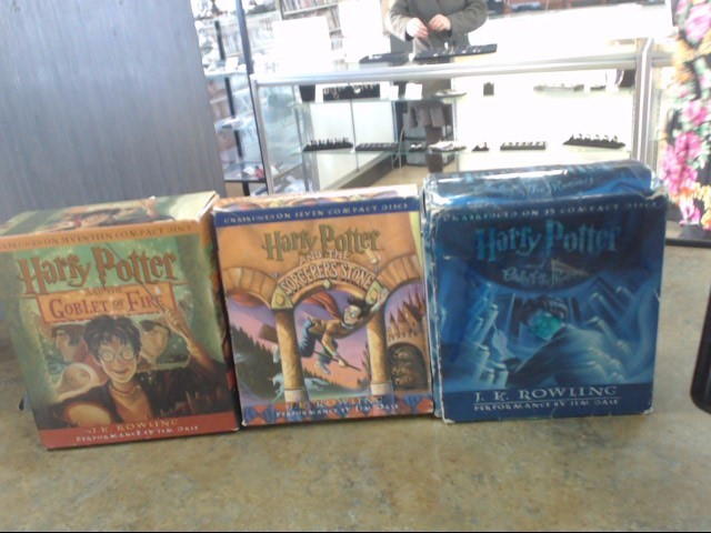 HARRY POTTER CD BOOK