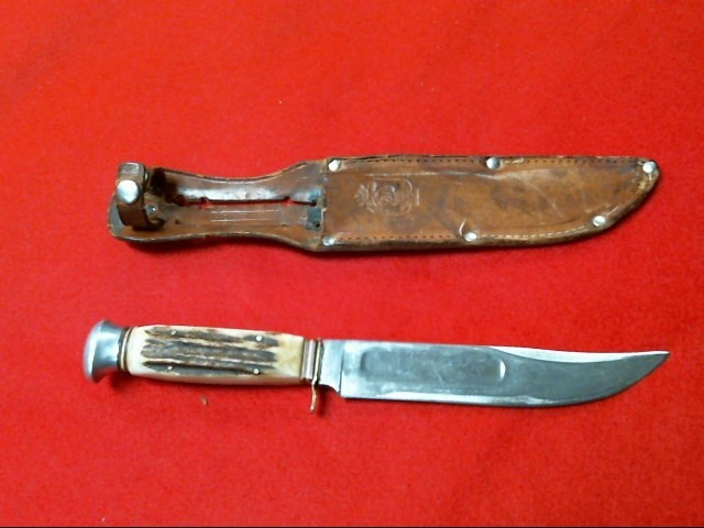 STAG KNIFE, FRED MAC OVERLAND