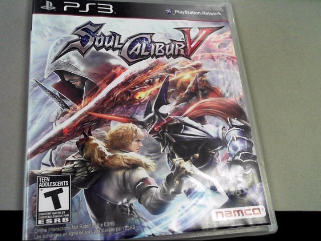 SONY Sony PlayStation 3 SOUL CALIBUR V