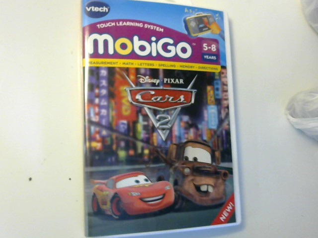 VTECH Game MOBIGO CARS 2
