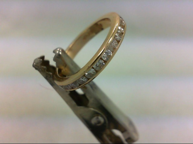 Lady's Gold-Diamond Anniversary Ring 27 Diamonds .54 Carat T.W. 14K Yellow Gold