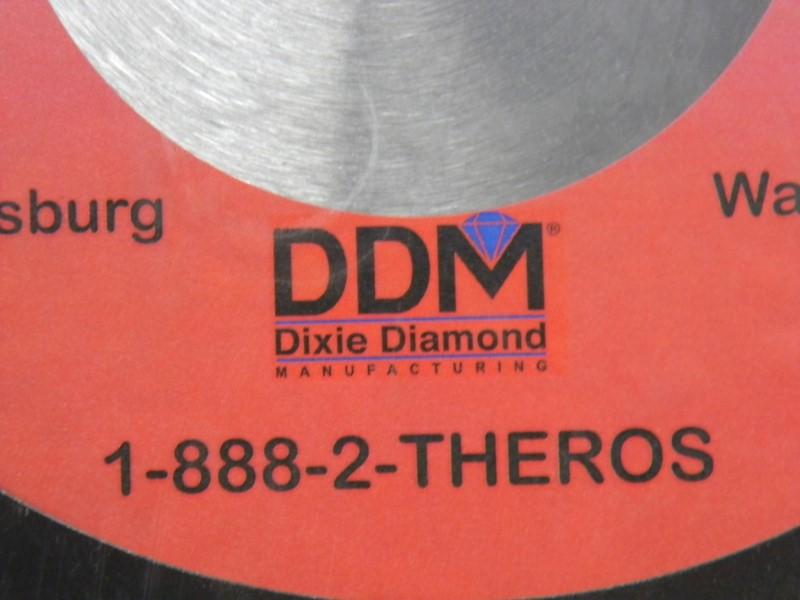 "Dixie Diamond Manufacturing - 14"" Diamond Blade - Cured Concrete"