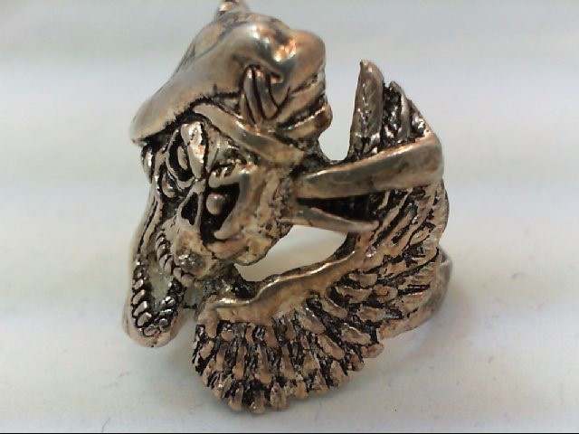 Gent's Ring Silver Stainless 19.8g