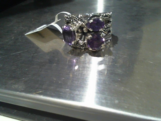 Lady's Silver Ring 925 Silver 11g