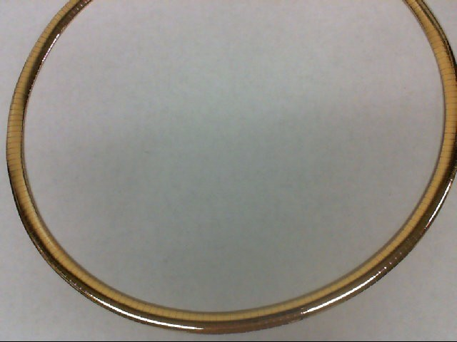 """18"""" Gold Omega Chain 14K Yellow Gold 31.9g"""