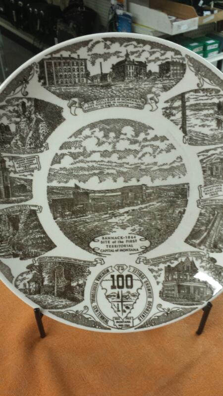 COLLECTOR PLATES COLLECTIBLES MISC USED MERCH MISC USED MERCH; MONTANA CENTENNIA
