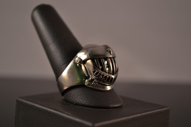 Gent's Ring Silver Stainless 10.3g