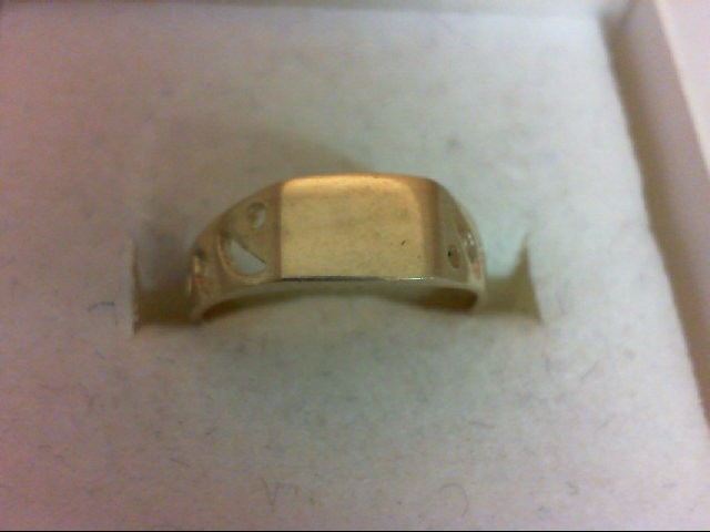 Child's Gold Ring 10K Yellow Gold 1.2g Size:3.75