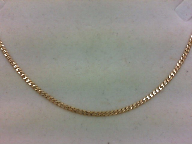 "18"" Gold Link Chain 14K Yellow Gold 4.7g"