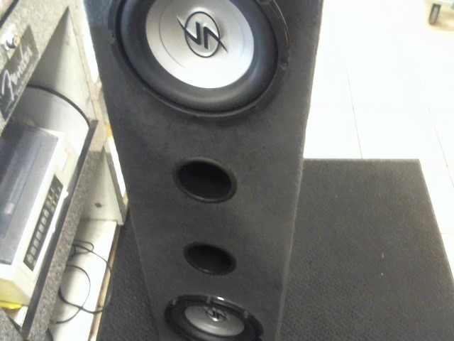 "LIGHTNING AUDIO Car Speakers/Speaker System 2 10"" SUBWOOFER"