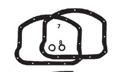 CUSTOM CHROME 12054, #17541-48B;  PAN ROCKER GSKT-THICK-SOLD BY 1  EACH