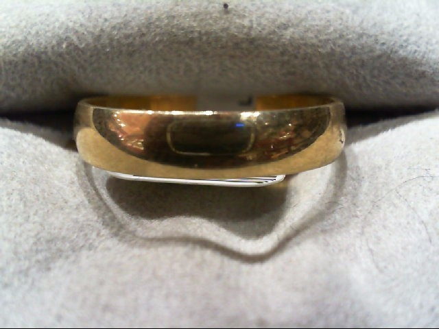 Lady's Gold Wedding Band 10K Yellow Gold 2.4g Size:8