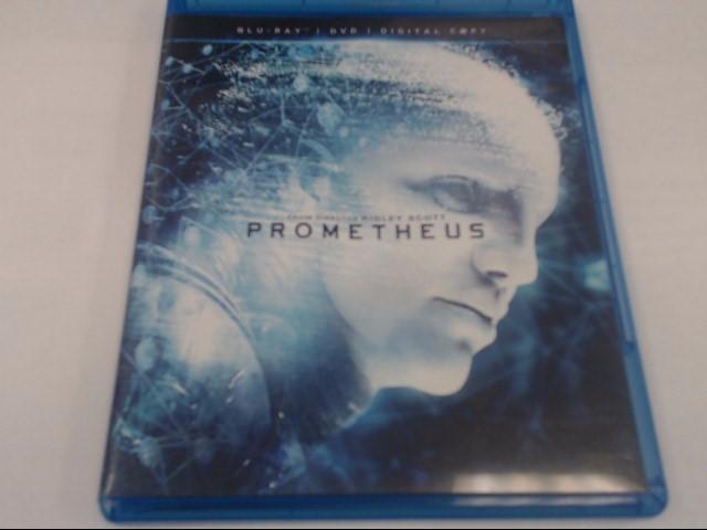 PROMETHEUS: BLU-RAY DVD MOVIE