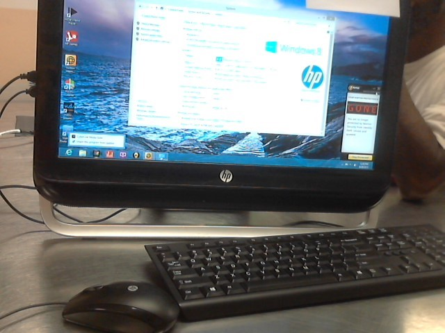 HEWLETT PACKARD PC Desktop 120-1333W