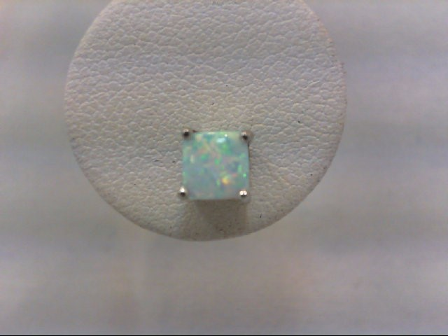 Opal Silver-Stone Earrings 925 Silver 1.2g