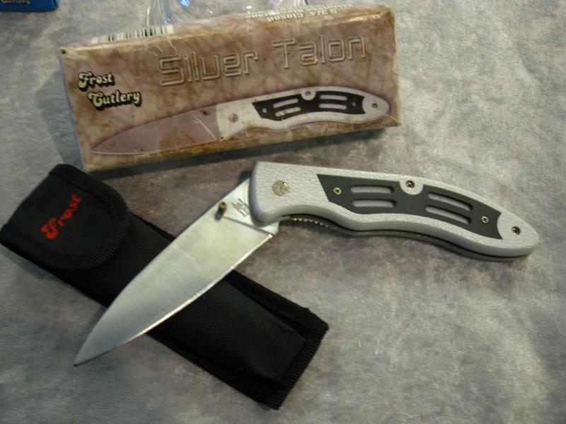 FROST SILVER TALON KNIFE