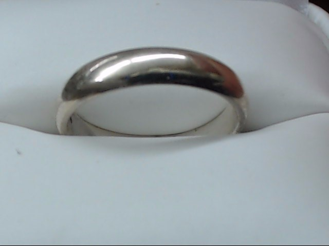 Lady's Silver Wedding Band 925 Silver 2.9g Size:6
