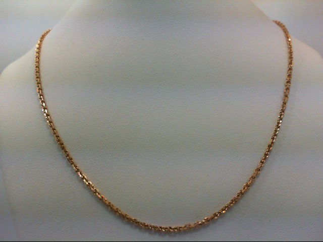 "20"" Gold Chain 18K Yellow Gold 6.7g"