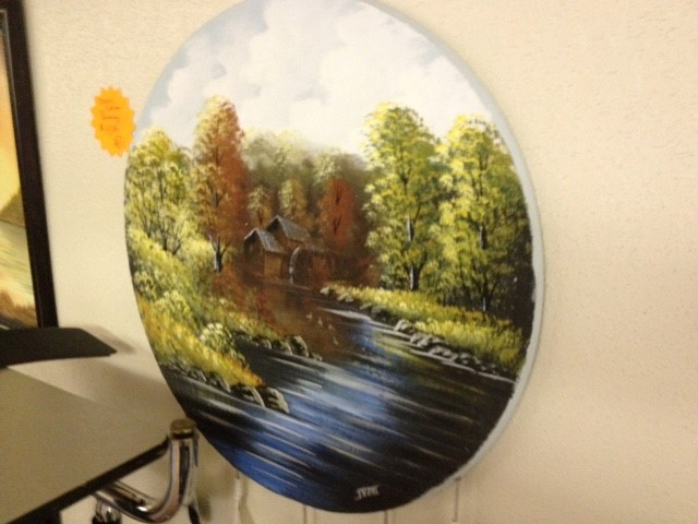"""DREAM CATHER CANVAS PAINTIN """"MILL CREEK"""""""