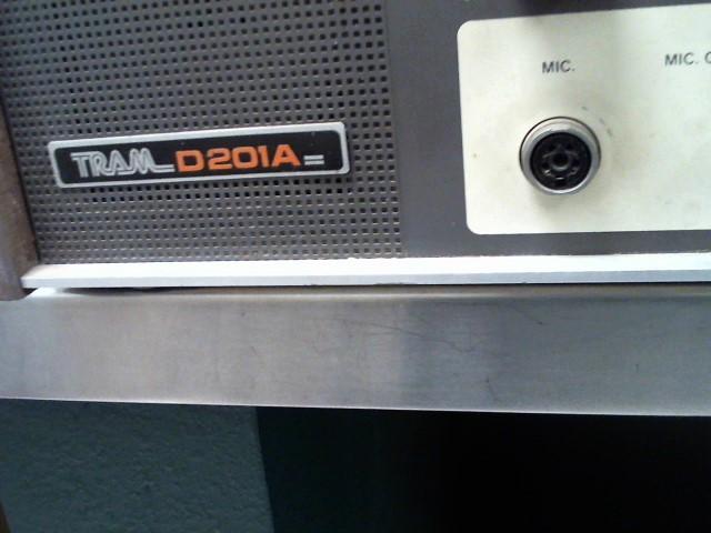 TRAMONTANE Vintage Electronic Part/Accessory D201A TRAM D201A
