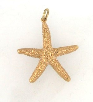 Gold Charm 14K Yellow Gold 0.8dwt