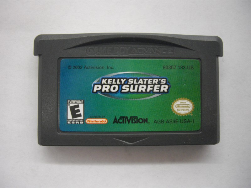 NINTENDO GBA Game KELLY SLATER'S PRO SURFER *CARTRIDGE ONLY*