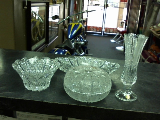 NACHTMANN Glass/Pottery CZECH CRYSTAL GLASS