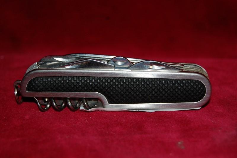 Black & Silver Pocket Knife