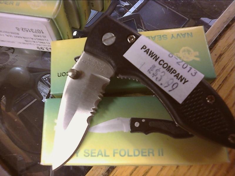 FROST CUTLERY Pocket Knife NAVY SEAL FOLDER II